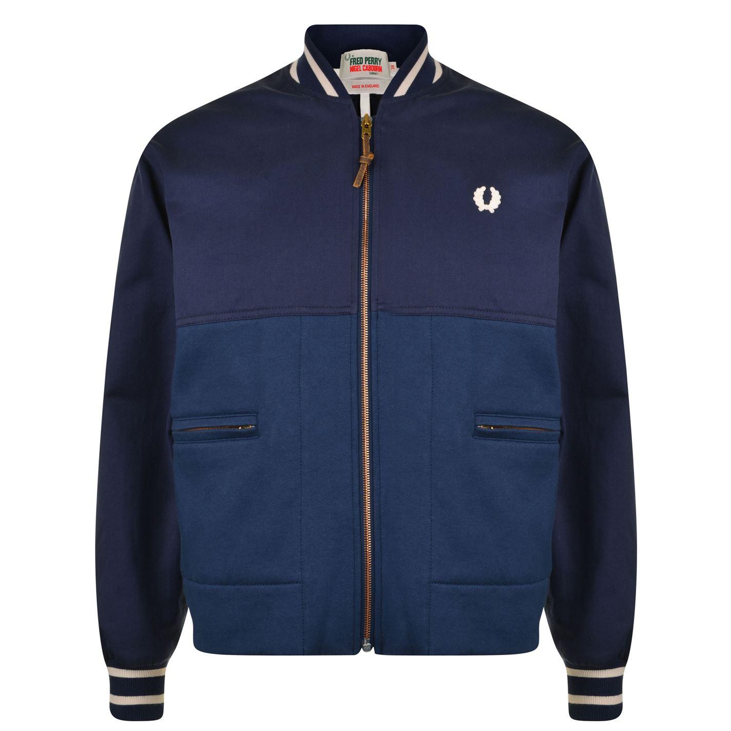 fredperry-nigel-cabourn-bomber-jacket