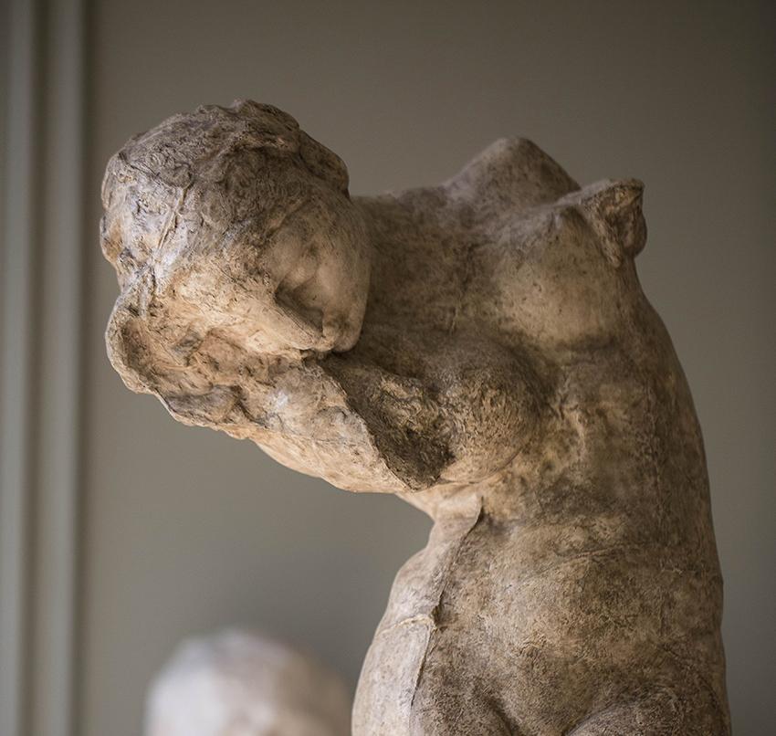 5_musée Rodin, Auguste Rodin La Méditation ou la voix intérieure  © agence photographique du musée Rodin, J. Manoukian